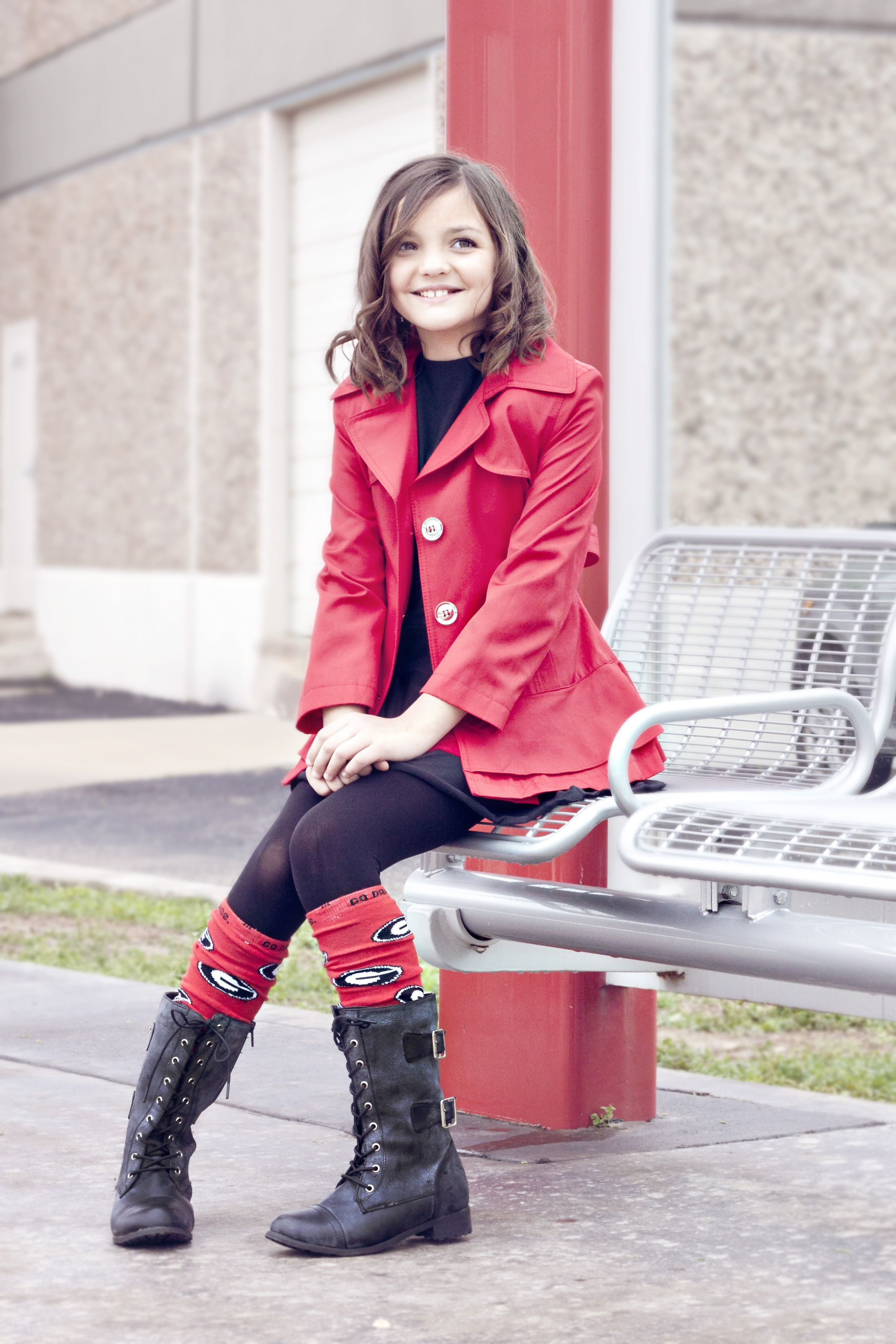 Perfect Georgia Bulldogs Gameday outfit! warmers by http://www ...