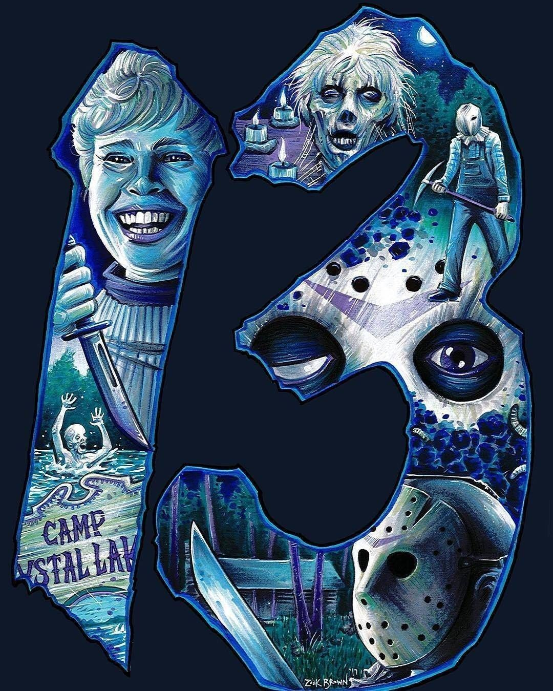 Pin by Anthony Delabrue on Jason voorhees in 2020 Horror