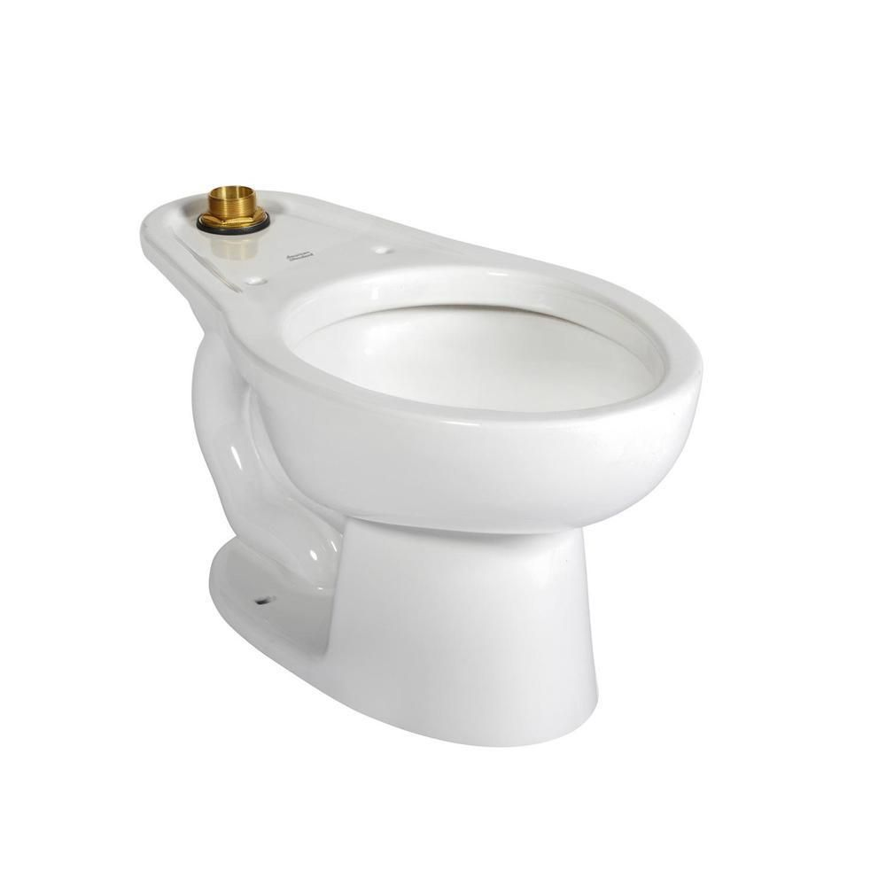 American Standard Madera Youth Elongated Toilet Bowl Only In White