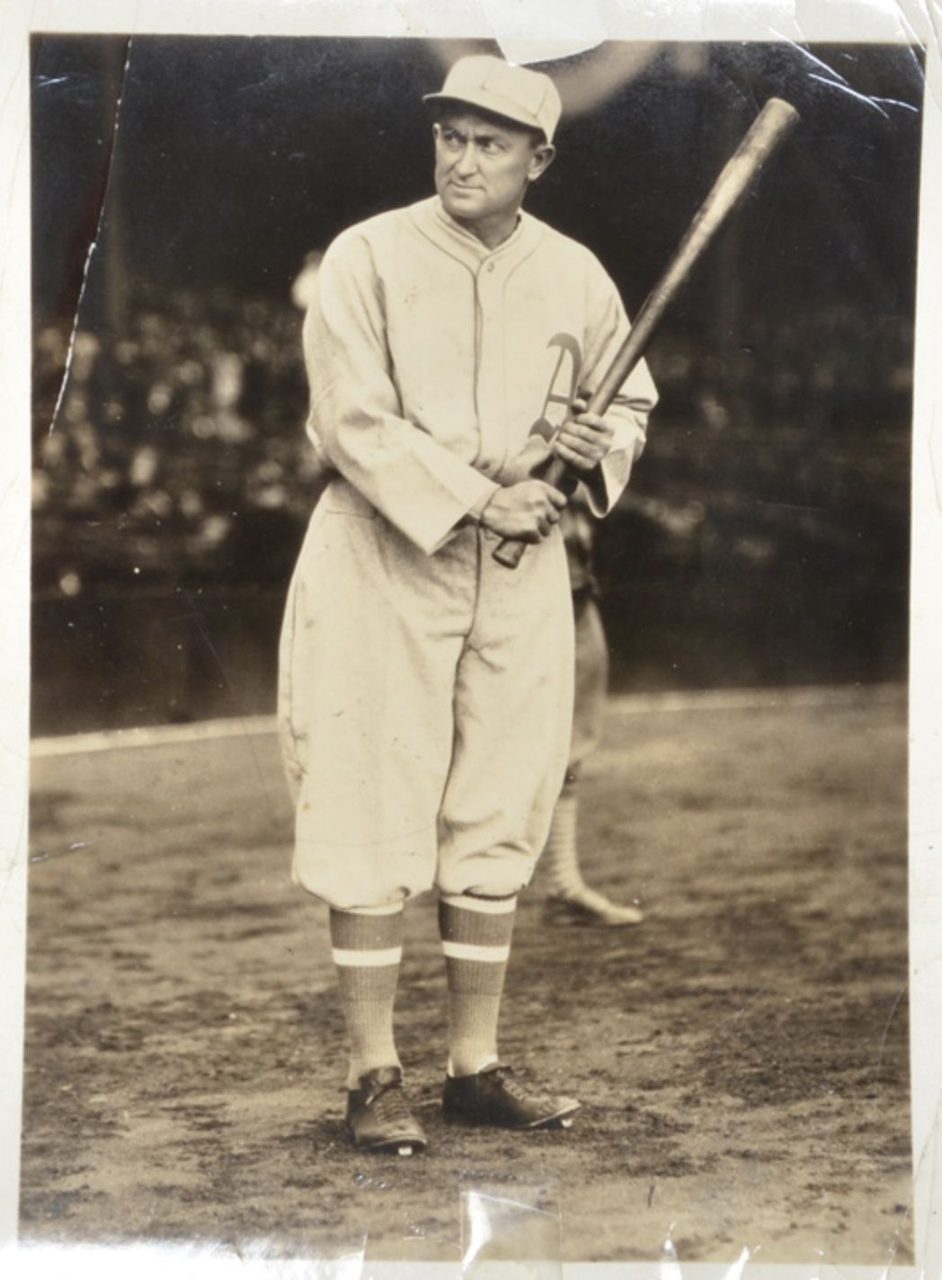 1928 ty cobb original photo used for his 1928 star player
