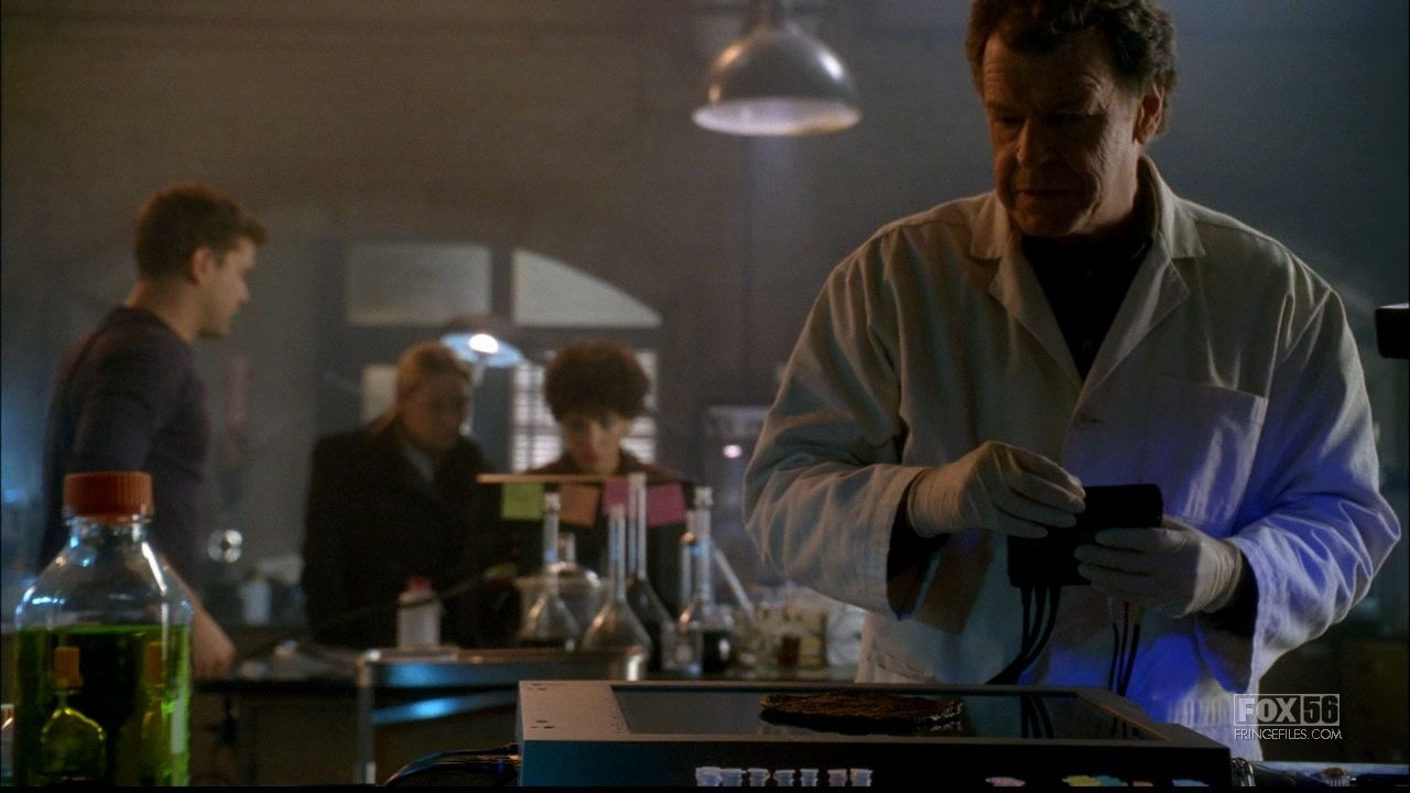 "Fringe Season 2 Episode 16: ""Olivia. In The Lab. With The Revolver."""