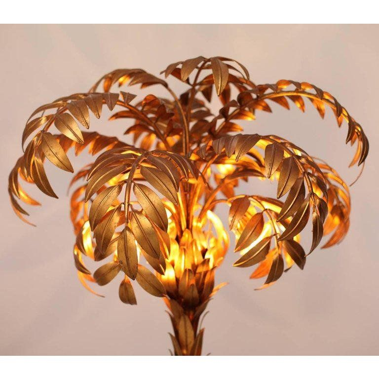 Hans Kogl Pair Of Huge Matched Hans Kogl Palm Tree Floor Lamps For Sale Image 4 Of 5 Tree Floor Lamp Floor Lamp Floor Lamp Lighting