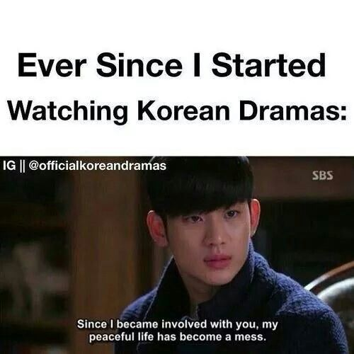 Kdramas Are Now My Life And If You Try To Stop Me From Getting Involved In Korean Things Well Let S Just Say Yo Drama Memes Korean Drama Quotes Kdrama Memes