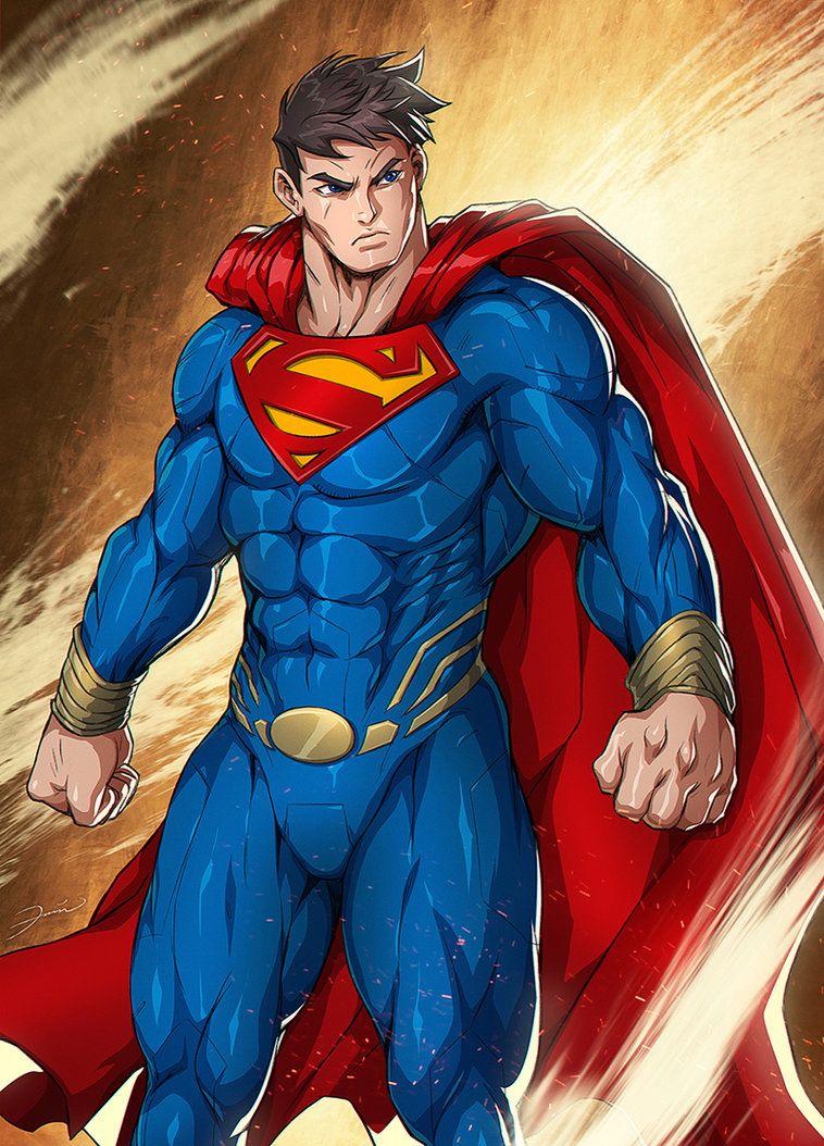 Superman By Franklin Vincent Superman Comic Books Superman Superman Comic