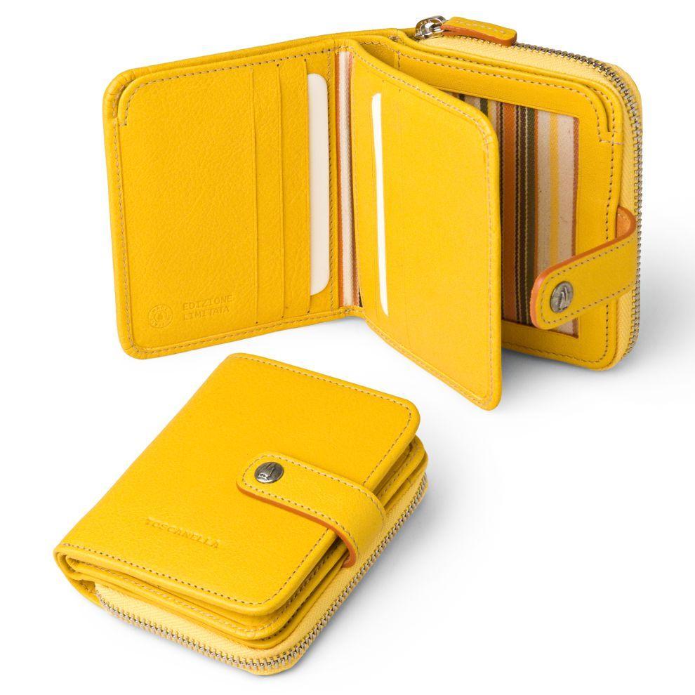 16dfd3bf6 Wallet Compact for Women in Italian Leather | Exclusively for Toscanella  Arte En Cuero, Tarjetero