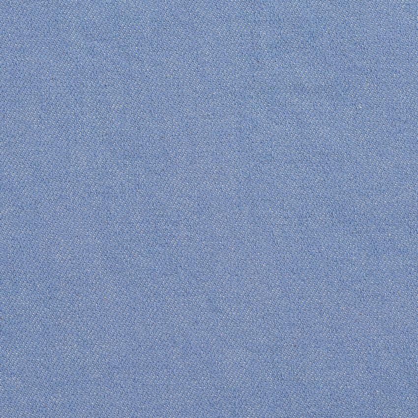 Light Blue Plain Denim Machine Washable Upholstery Fabric Home