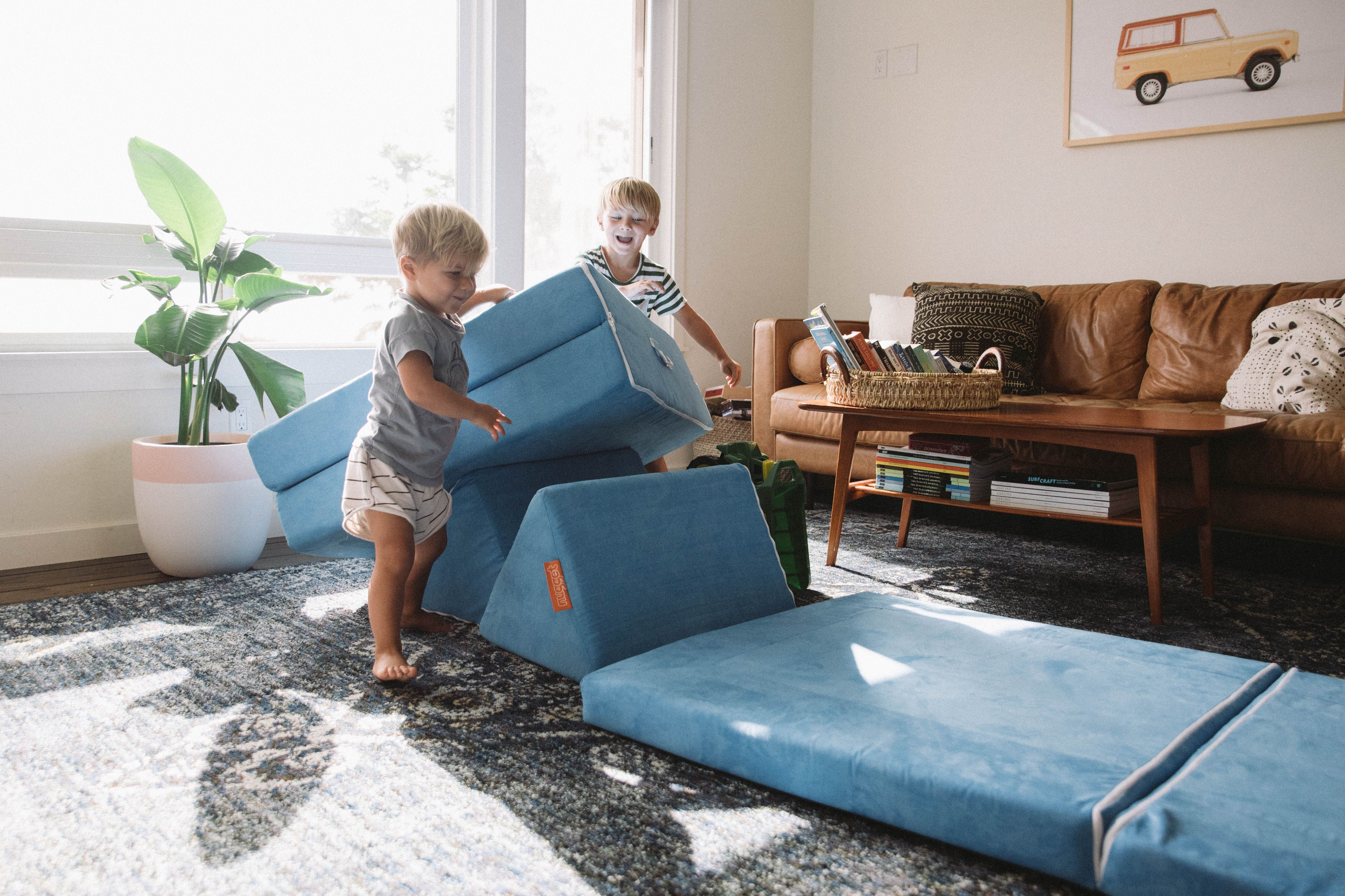 Perfect Solution For Our Playroom First Room Kids Couches For