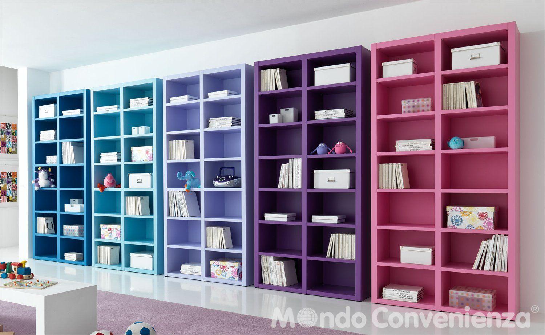 Libreria Moderna Mondo Convenienza.Il Paese Dei Balocchi Complementi E Librerie Librerie