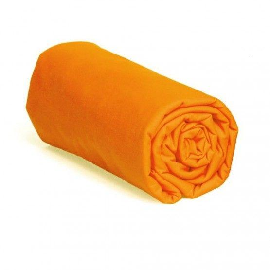 Stretch jersey fitted sheet orange 60*120 cm #stretch #jersey #fitted #sheet #60*120cm #orange