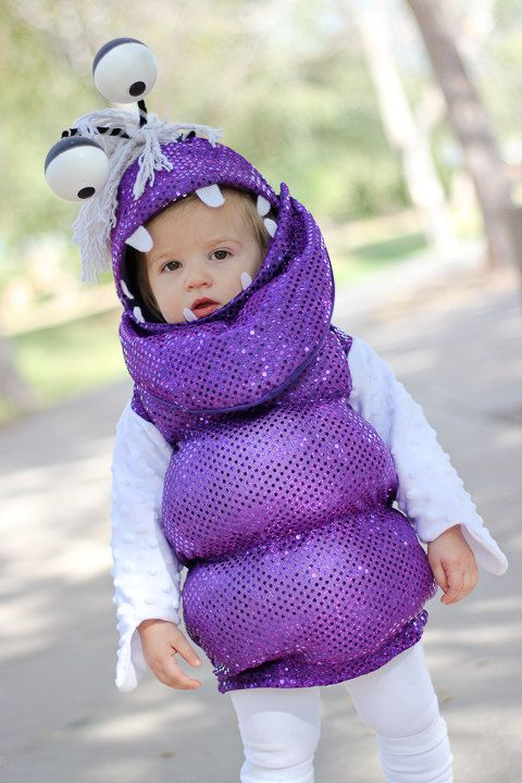 Boo Monster Costume Monster S Inc Size 6 To 12 Months Etsy Monster Costumes Monster Inc Costumes Toddler Halloween Costumes