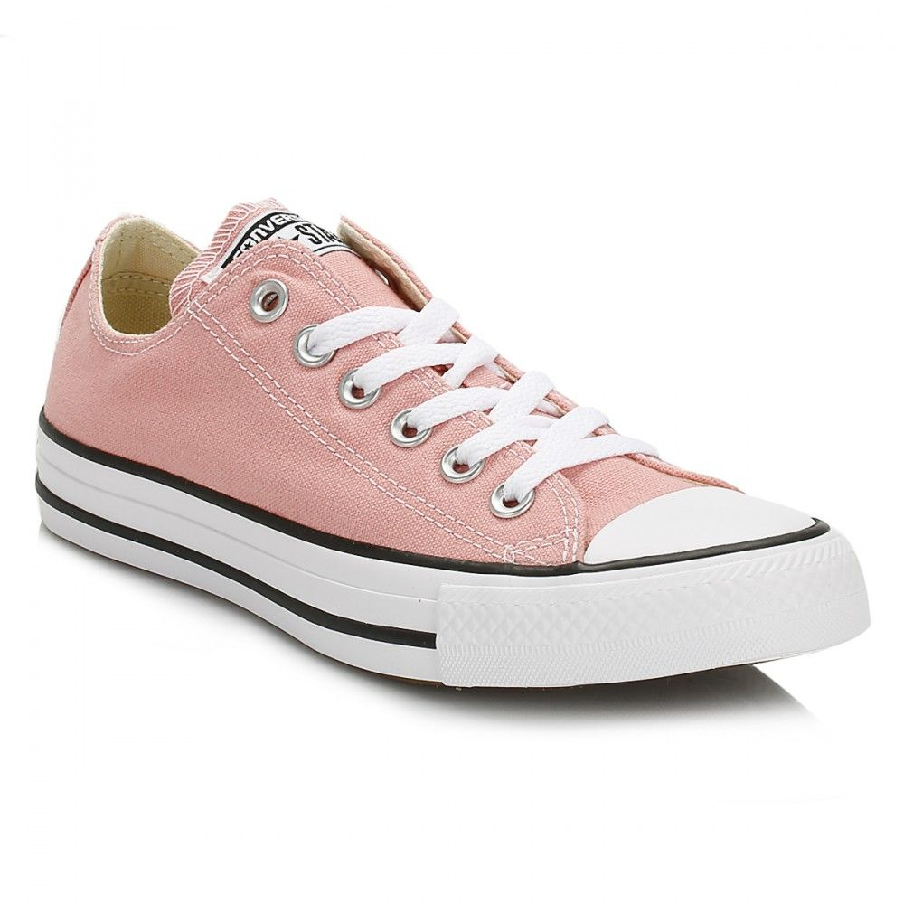 Womens Converse Ct Ox Trainers In Pink