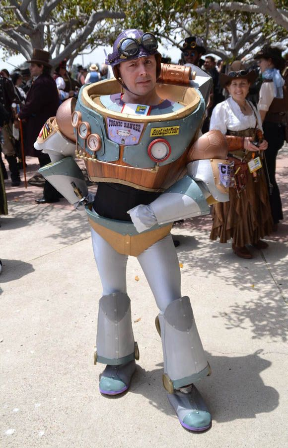 Steampunk Buzz Lightyear Steampunk Men Cosplay Steampunk