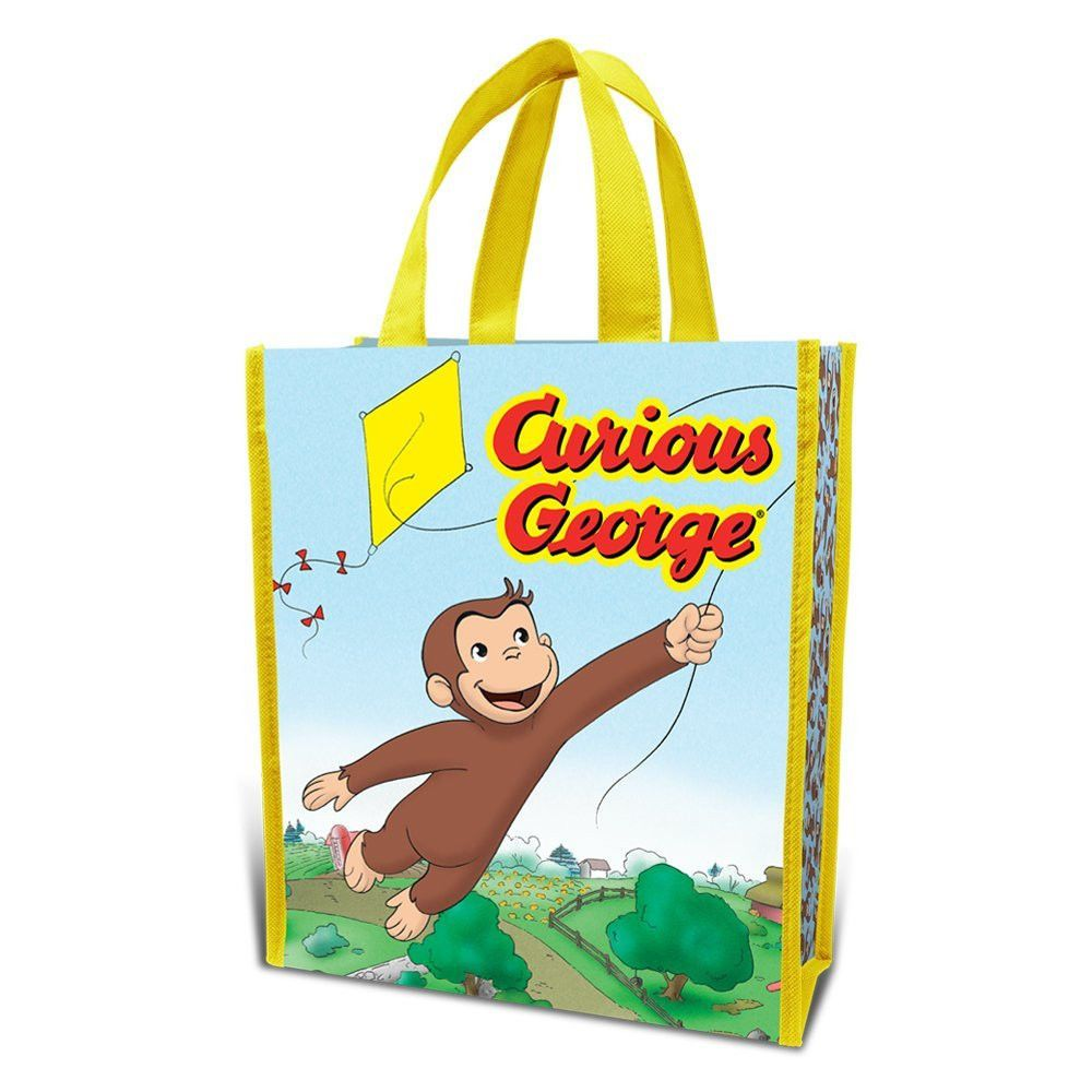 Curious George Reusable Shopping Tote Gift Bag Kite 49173