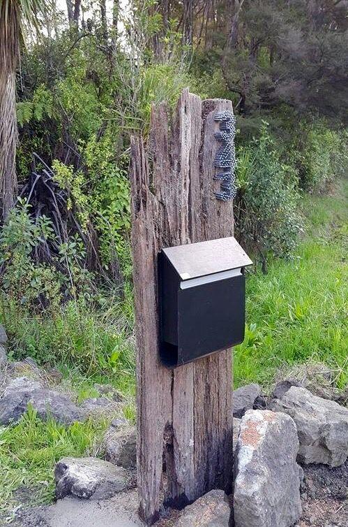 Our new letterbox ogród Pinterest Letter boxes, Mail boxes - designer mobel aus holz joyau bilder
