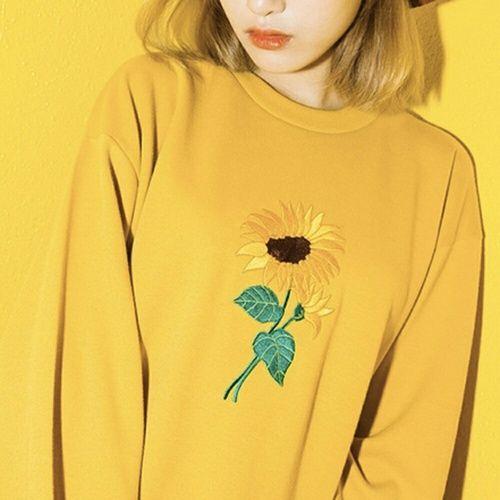 Imagen de yellow, tumblr, and flowers
