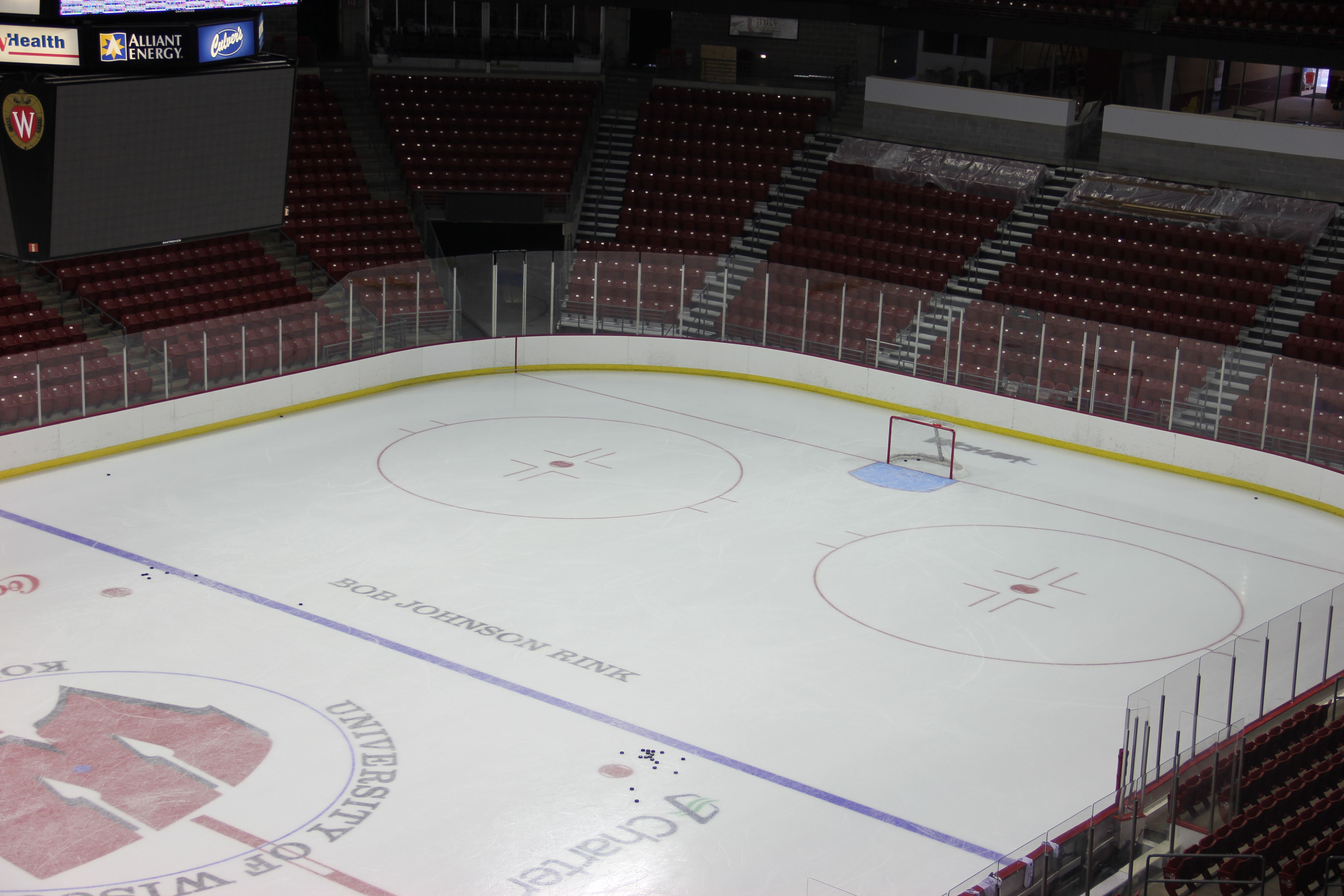 The Kohl Center Ice Has A Subtle New Look This Year Can You Spot