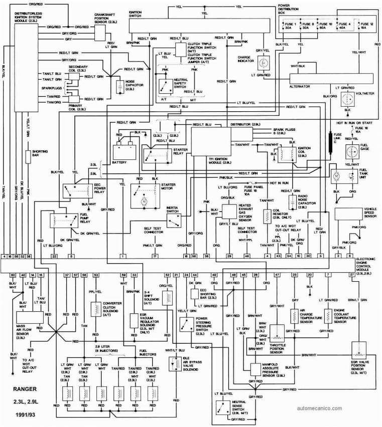 10 2002 Ford Ranger Electrical Wiring Diagram Wiring