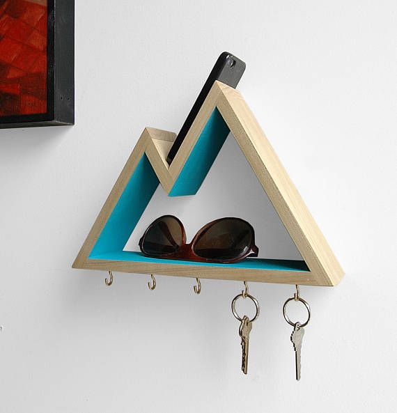 Photo of Mountain Key Rack and Entryway Organizer