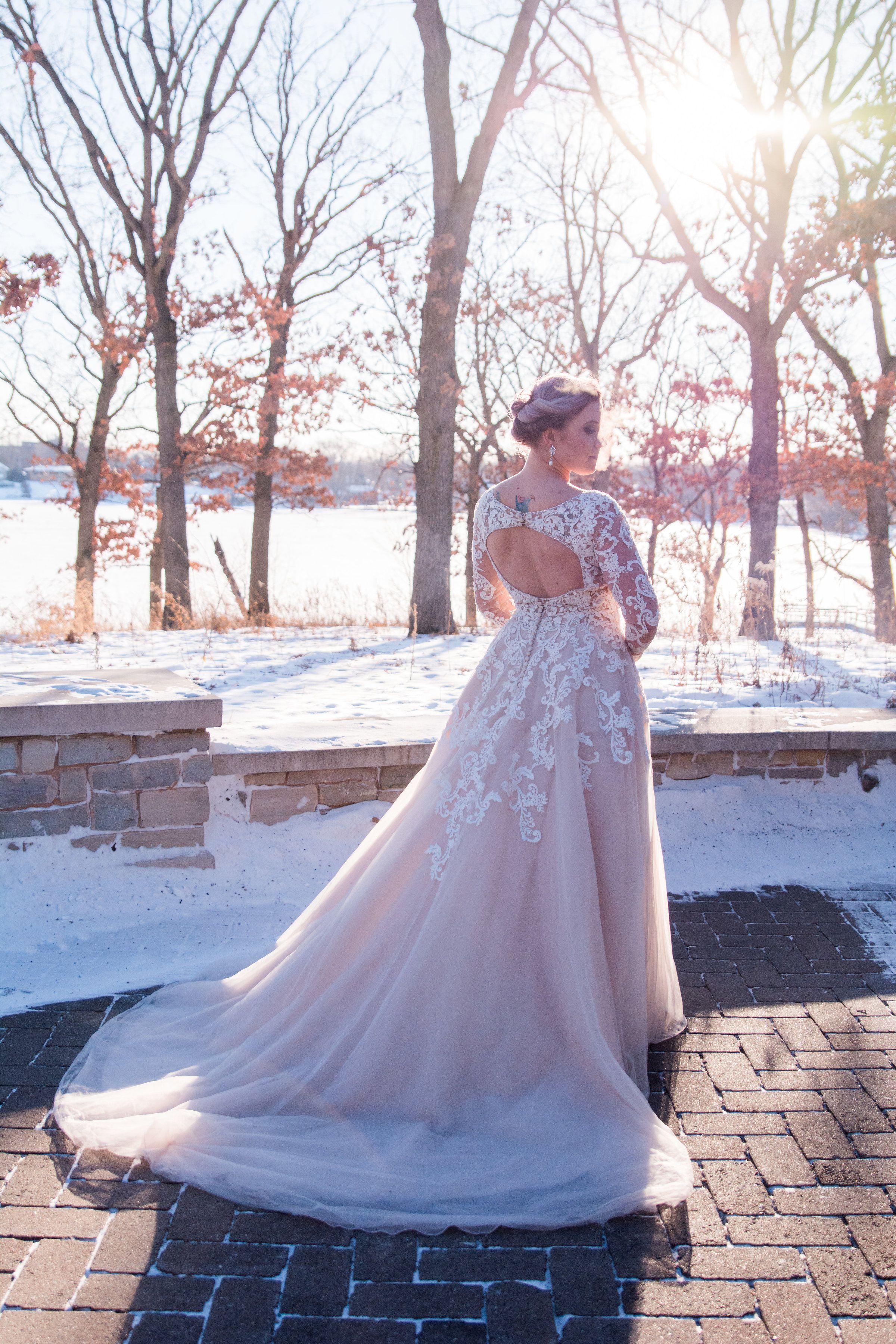 1d92819ca46dd Venue: 3 Rivers Park District - Silverwood Park, St. Anthony, MN, long  sleeve wedding dress, lace wedding dress   Mori Lee Maira   Wedding Shoppe,  Inc.