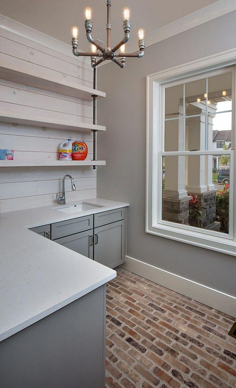 84+ Beautiful Laundry Room Tile Design Ideas