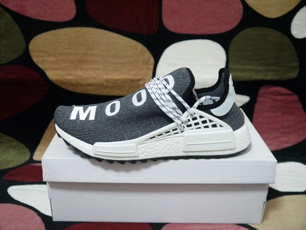 4be4596da Adidas Pharrell Williams PW Human Race NMD Trail Black White SZ 10 Athletic   fashion  clothing  shoes  accessories  mensshoes  athleticshoes (ebay link)