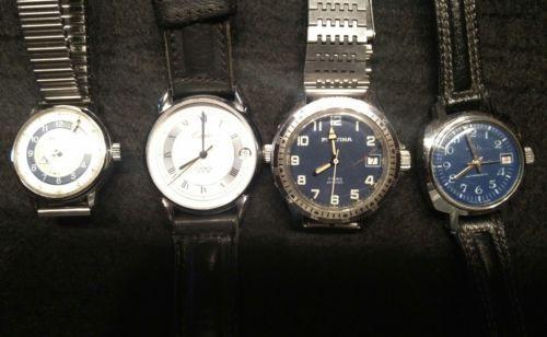Konvolut von 4 Armbanduhren, Handaufzug, mechanischsparen25