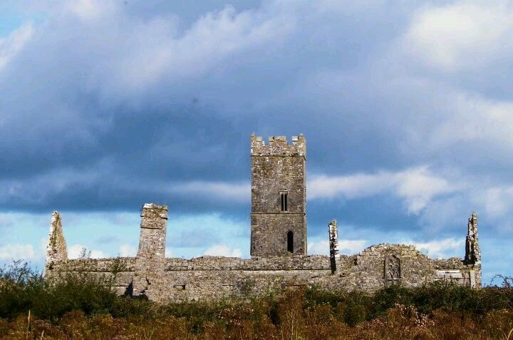 Clare Abby in Co. Clare Ireland in the year of 1189