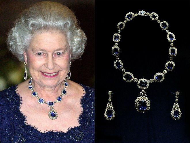 Queen Elizabeth Jewelry Collection Crown Jewels Of
