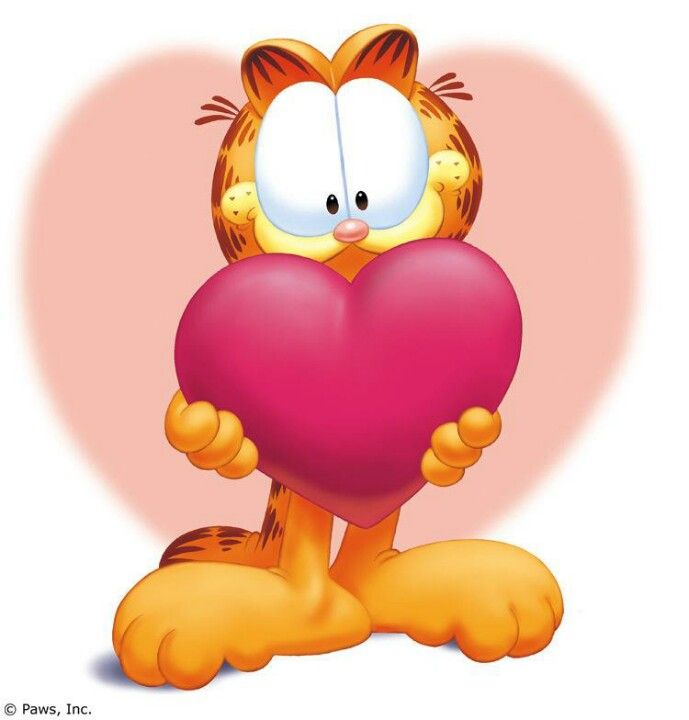 Happy Valentines Day Garfield And Odie Garfield Pictures