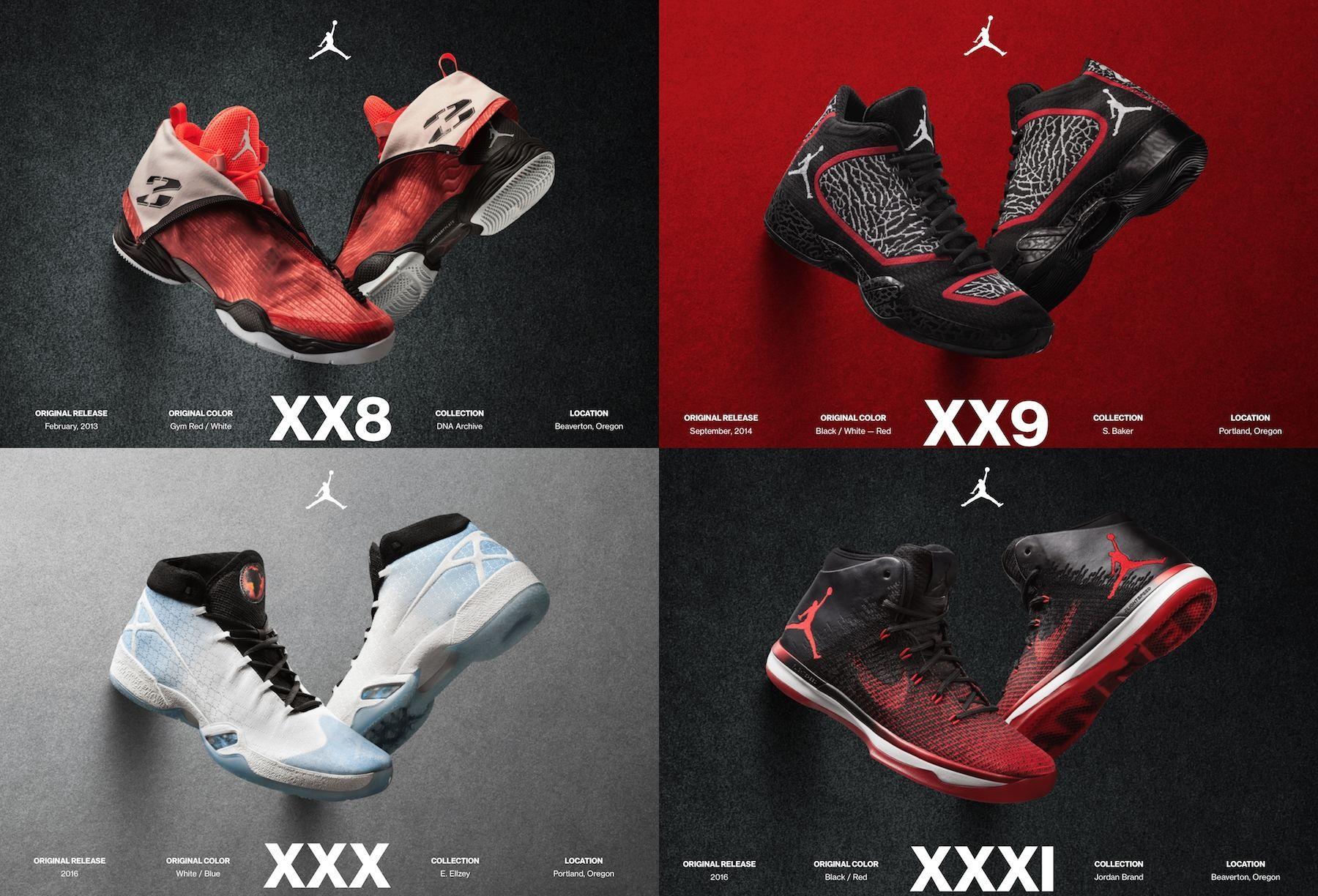 禁穿事件32週年,喬丹牌請出歷代『原版Air Jordan』