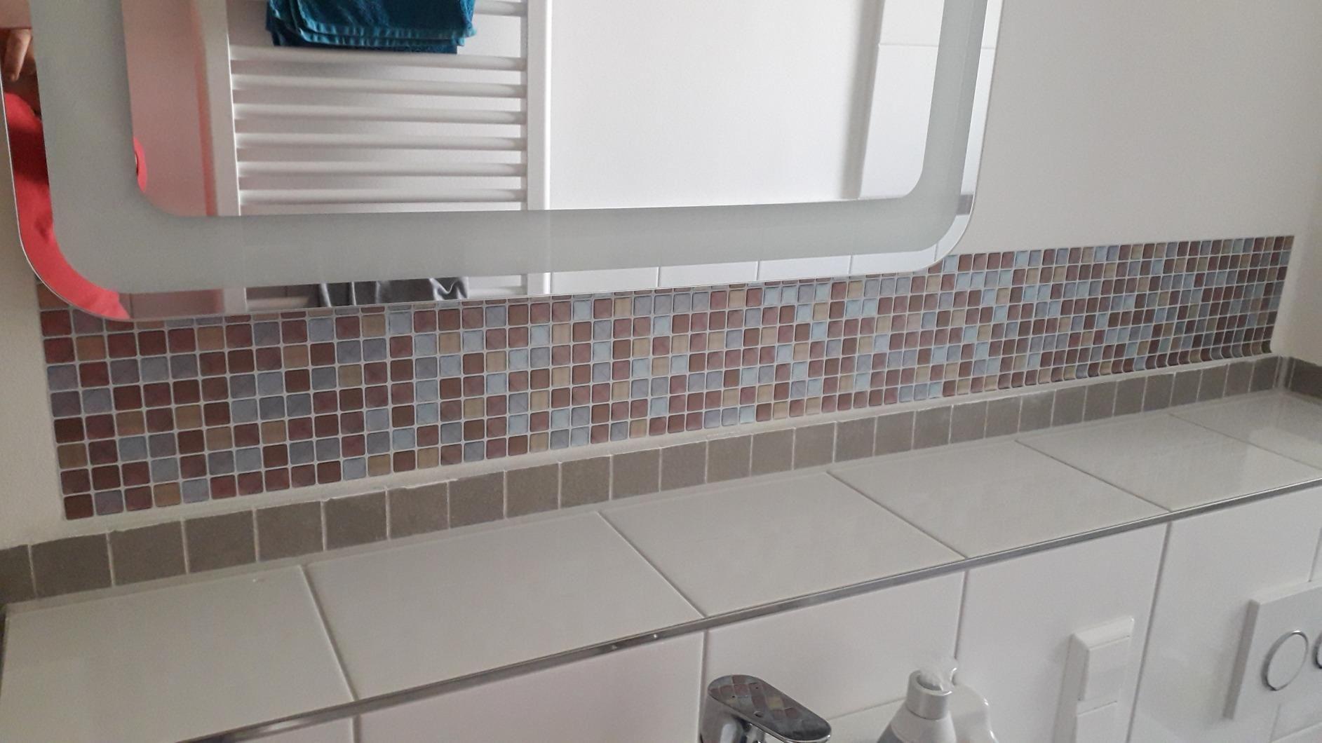 Yoillione 3d Fliesenaufkleber Mosaik Bad Fliesenfolie Kuche Selbstklebende 3d Mosaik Fliesen Sticker Braun Wasserdicht Fliesen Sticker Fliesenfolie 3d Fliesen