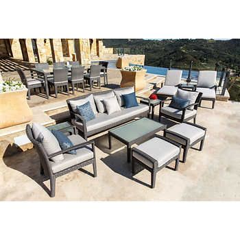 Cambridge 20 Piece Estate Collection Outdoor Furniture Sets New