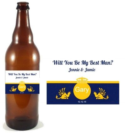 Create free beer bottle label template. Quick and easy DIY ...