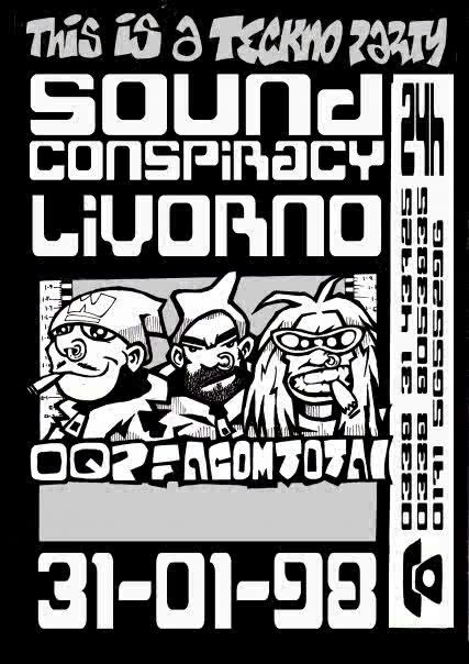 SOUND CONSPIRACY - OQP - FACOM - TOTAL RESISTANCE Italy 98
