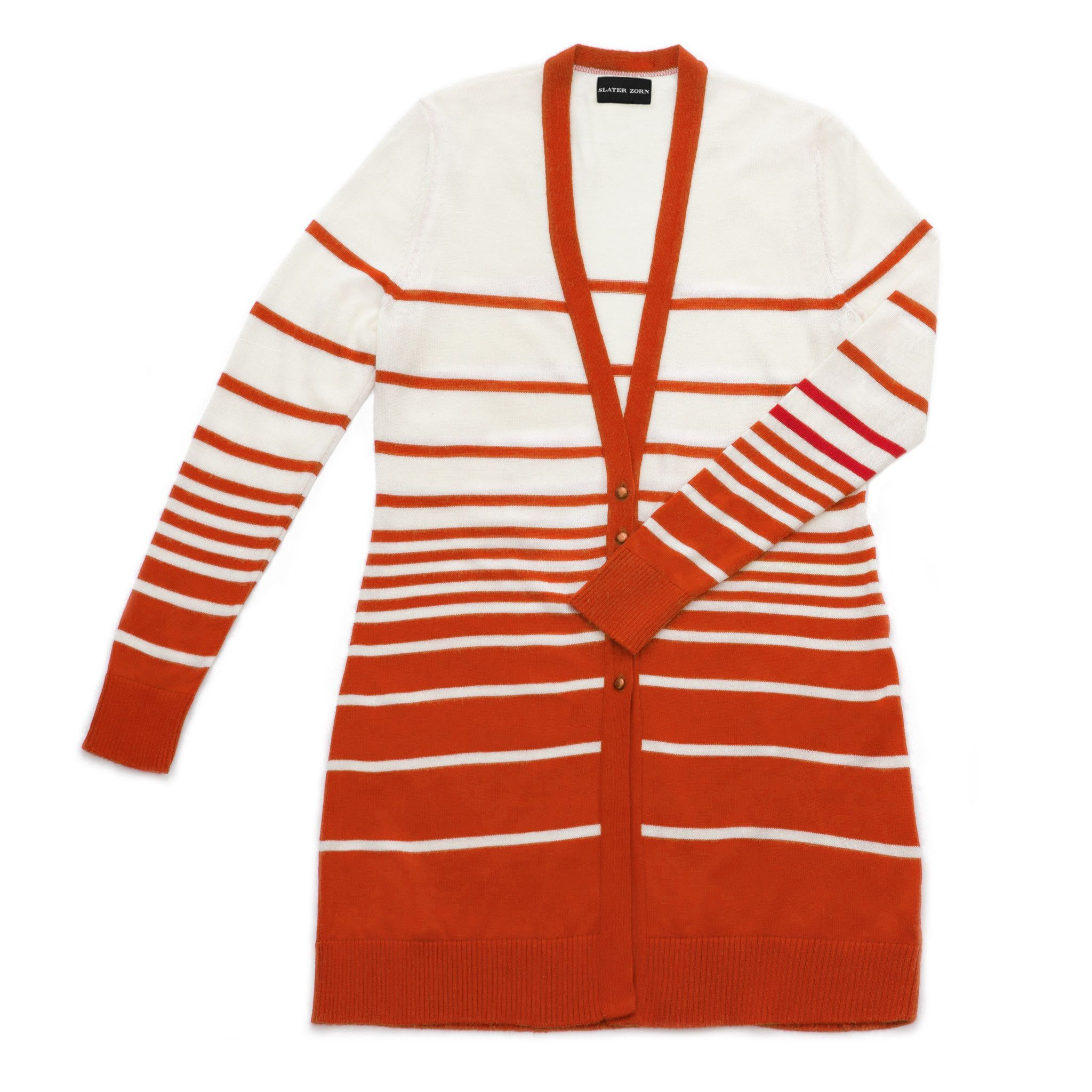 Graduated stripe cardigan | Striped cardigan and Products
