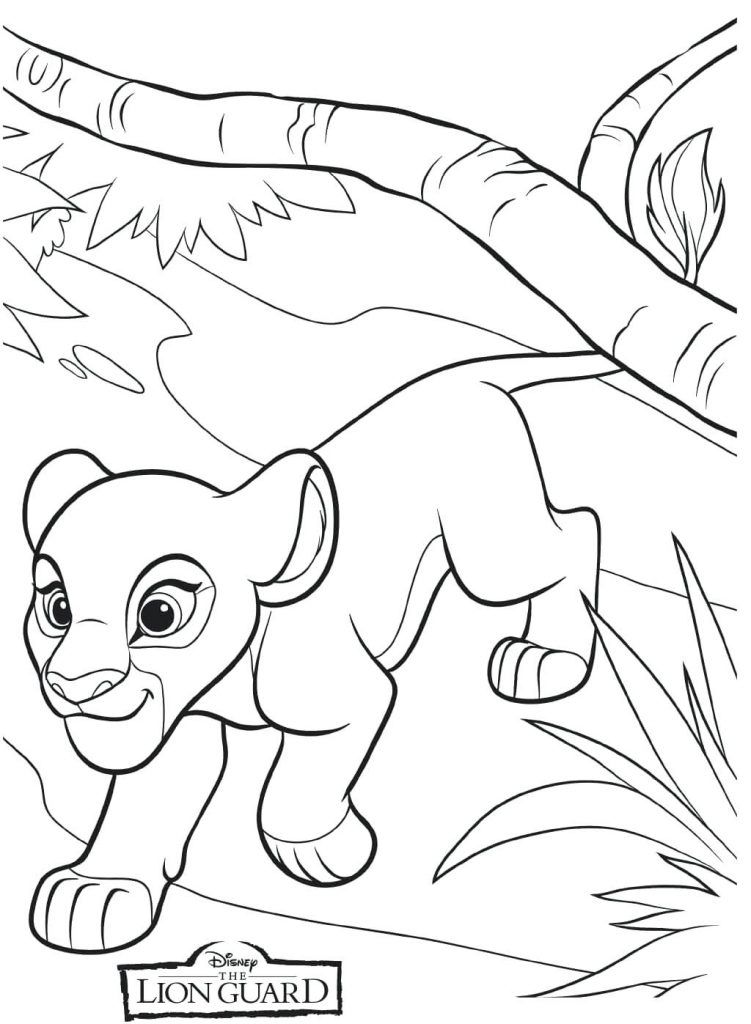 Lion Guard Coloring Pages | mama bear | Pinterest | Colores ...