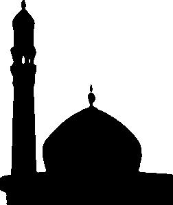 31f237b552f1 Masjid Silhouette clip art - vector clip art online