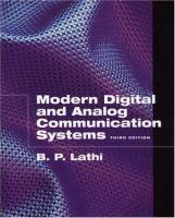 Modern digital and analog communication systems / B.P. Lathi. - BXJ RB Lat