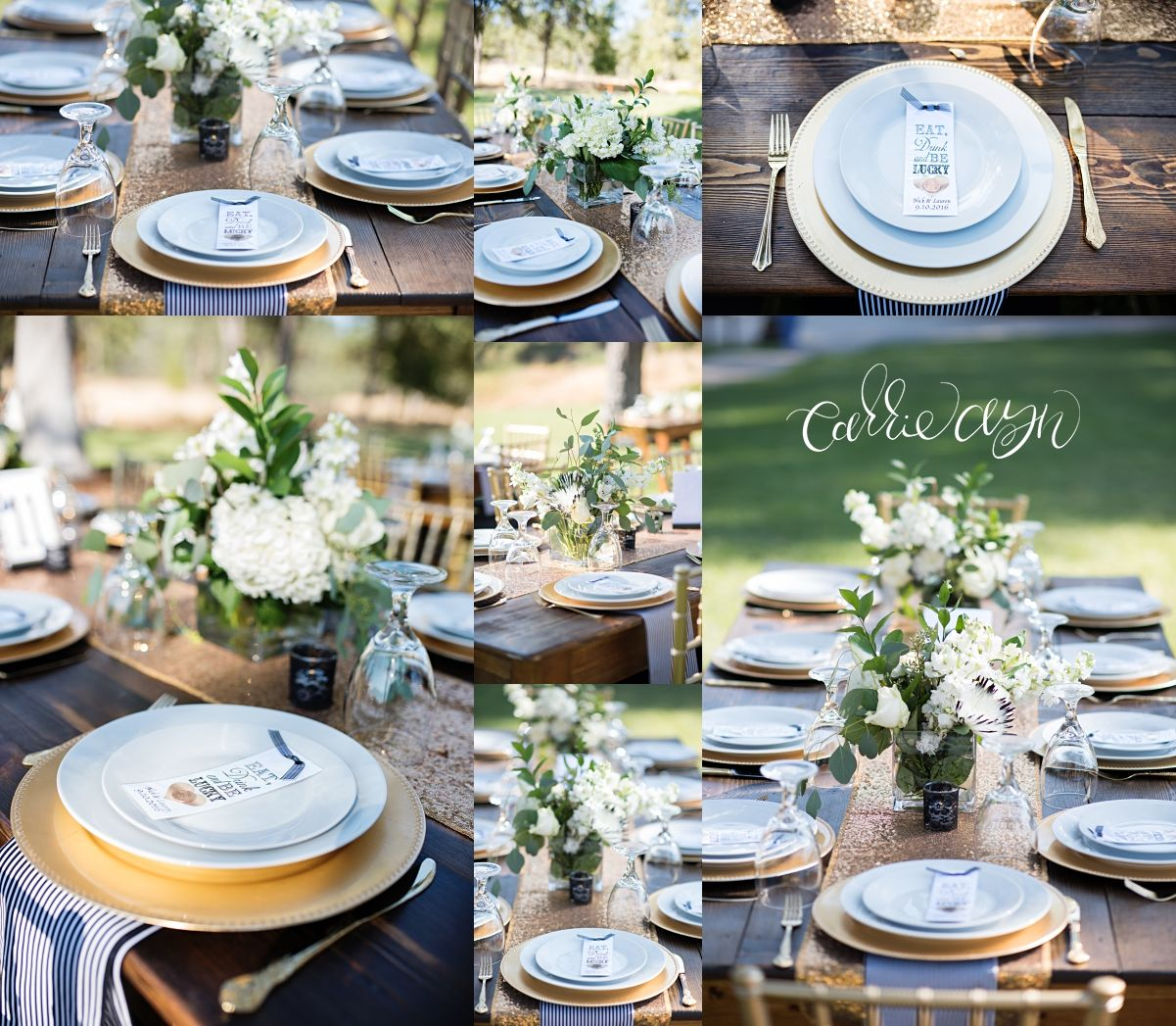Great Gatsby Themed Wedding At Leaning Tree Lodge In Placerville