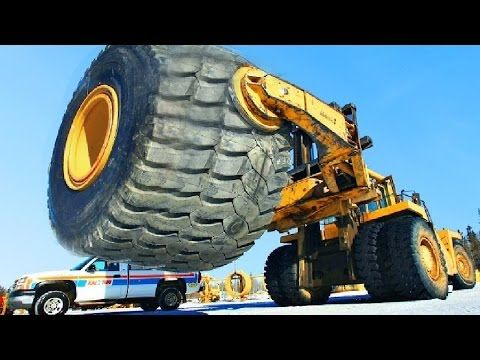 The Biggest Heavy Equipment In The World Youtube With Images