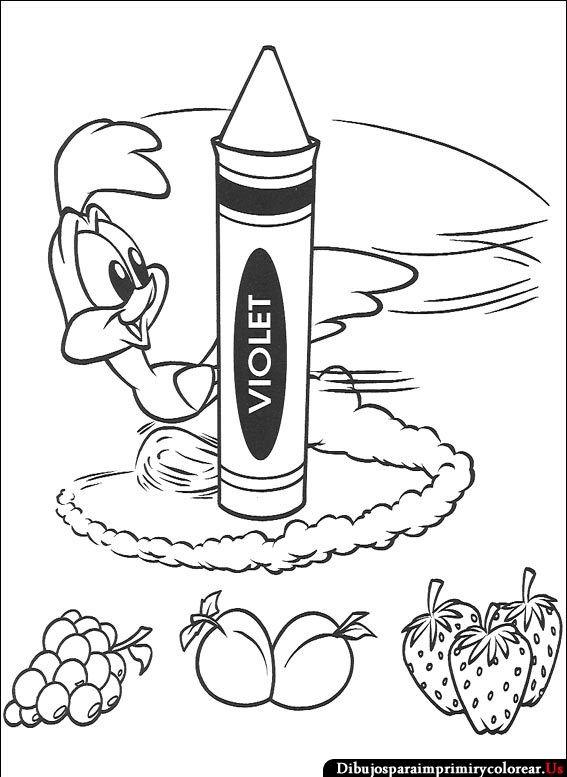 Dibujos de Baby Looney Tunes para Imprimir y Colorear | cumple gabi ...
