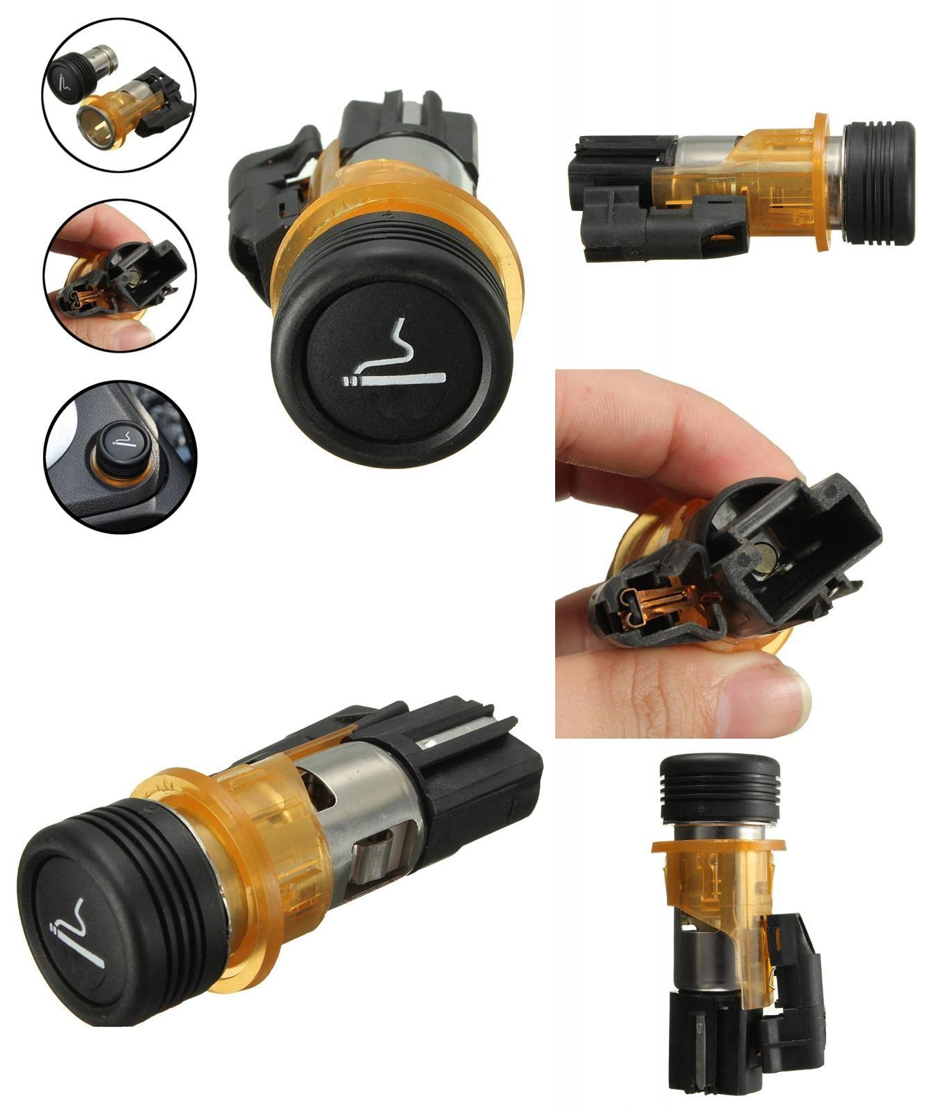 Visit To Buy 12v Car Cigarette Lighter Housing Cig Socket For  # Muebles Peugeot Boxer