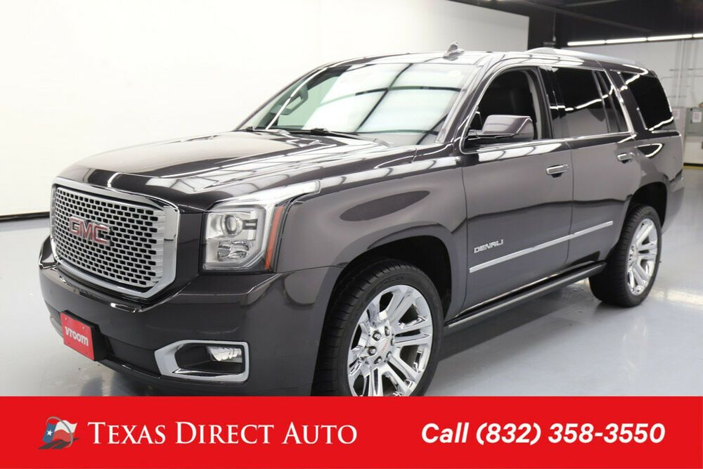 For Sale 2015 Gmc Yukon Denali Texas Direct Auto 2015 Denali Used
