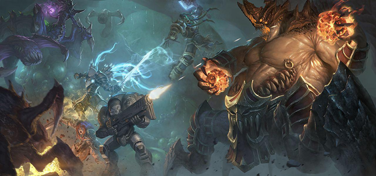 Wallpaper Starcraft Warcraft Zeratul Thrall Tyrael Heroes Of 1181 838 Thrall Wallpapers 42 Wallpapers Heroes Of The Storm Art Contest Storm Wallpaper World of warcraft thrall wallpaper