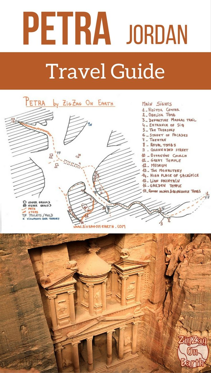 Visiting Petra Jordan Map things to see planning tips – Travel Sites With Payment Plans