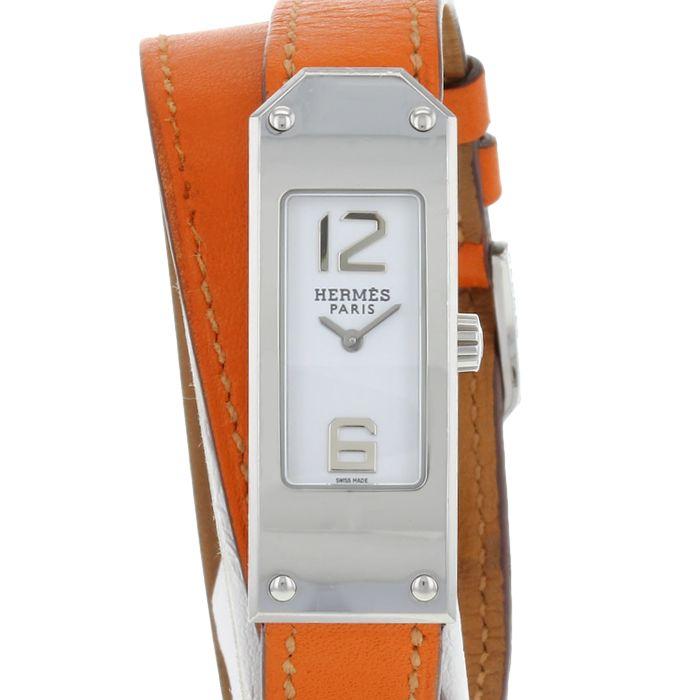 Hermès Kelly 2 en acier Ref : KT1.210 Vers 2010