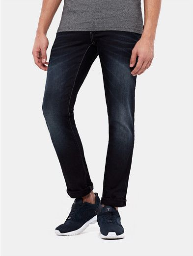 Sting Kleding.Slim Fit Jeans Blauw Used Dark The Sting Kleding Pinterest