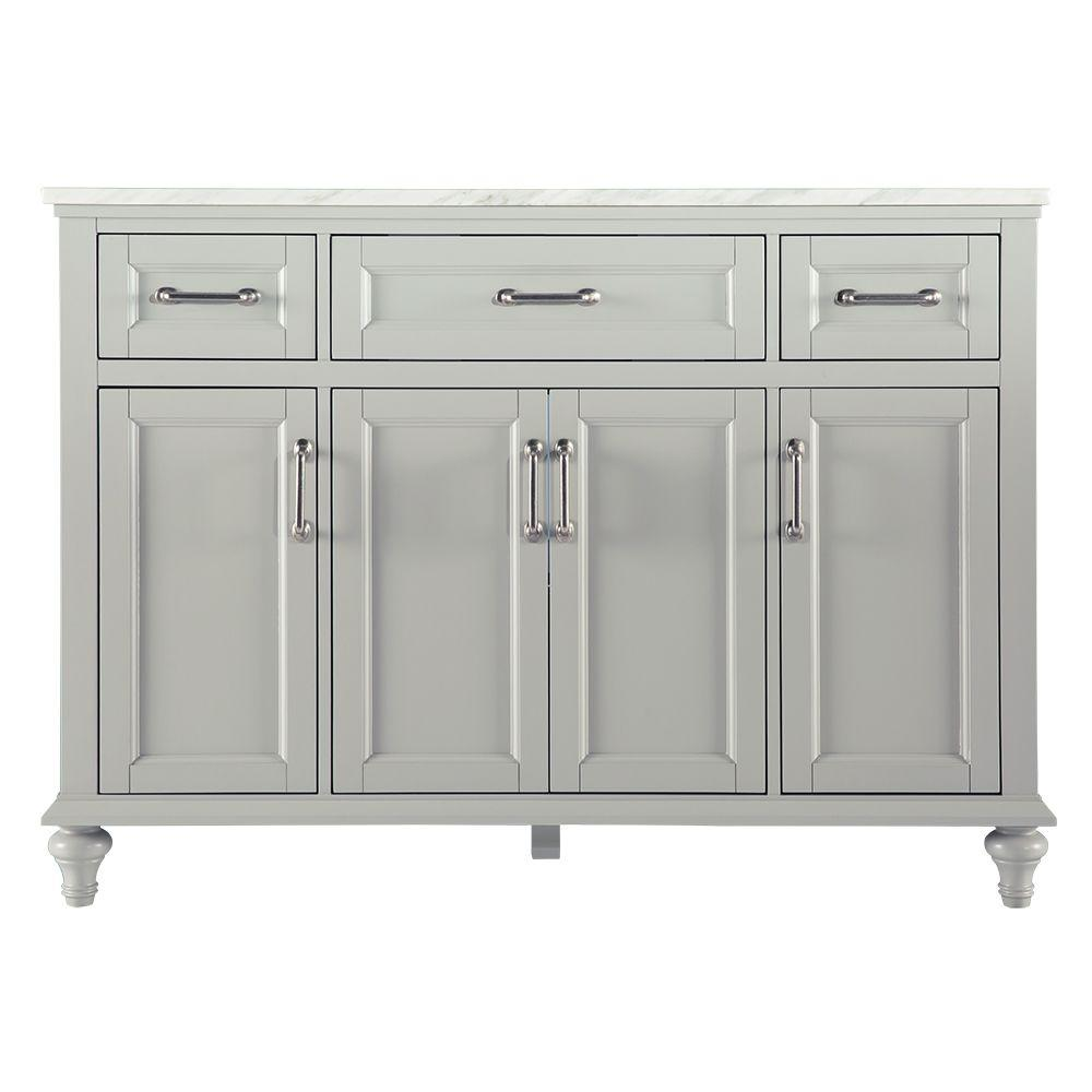 Pics Of Home Decorators Collection Charleston in W x in D Vanity in Grey