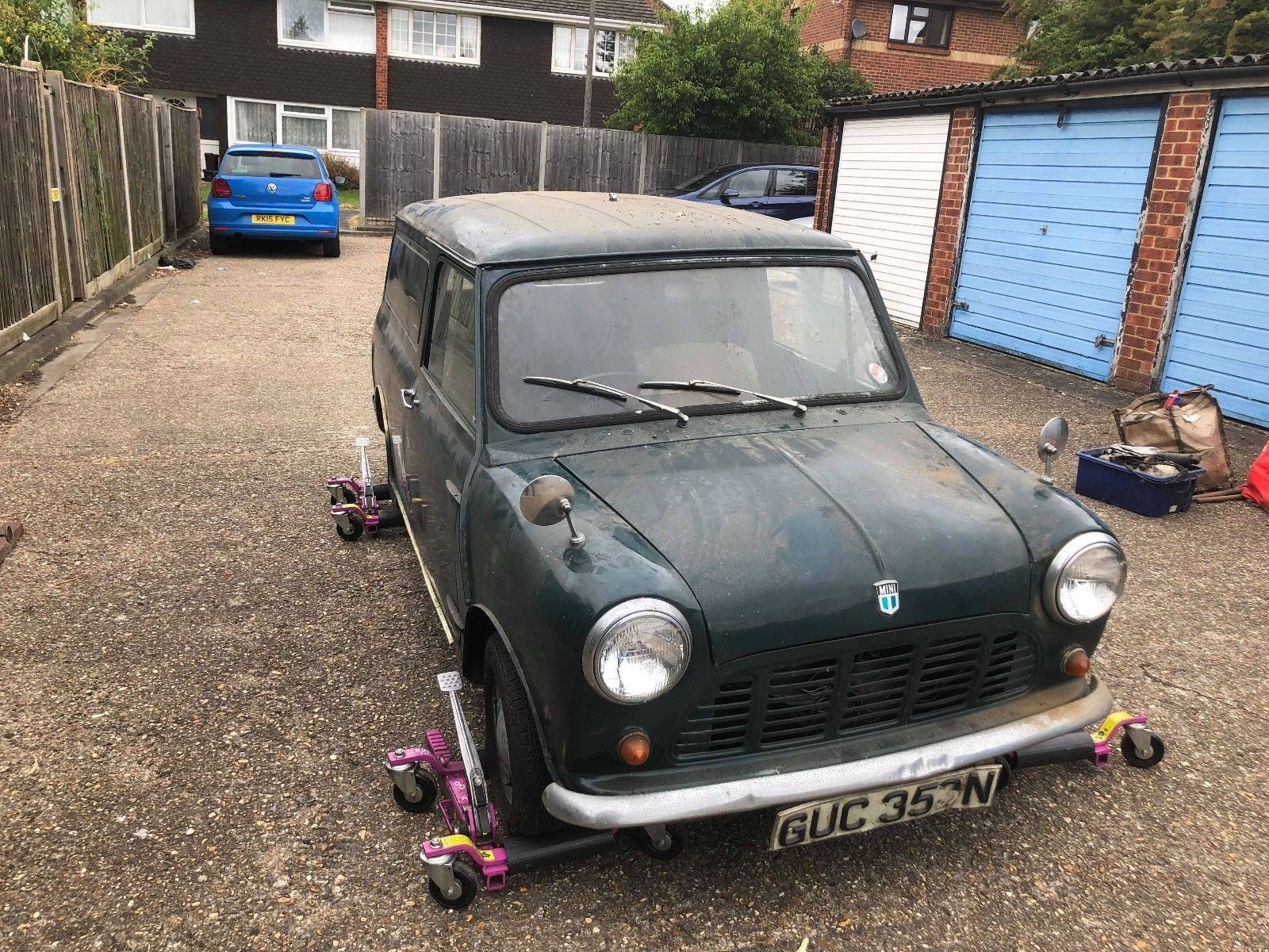 Ebay Mini Van 850 Cc 68 000 Miles Ex Scotland Yard Then Family Owned Resto But Rare Classicmini Mini Mini Van Mini Cars For Sale Mini Trucks