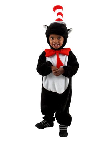 Dr Seuss Cat in the Hat Toddler Costume Holiday\u0027s Pinterest - dr seuss halloween costume ideas